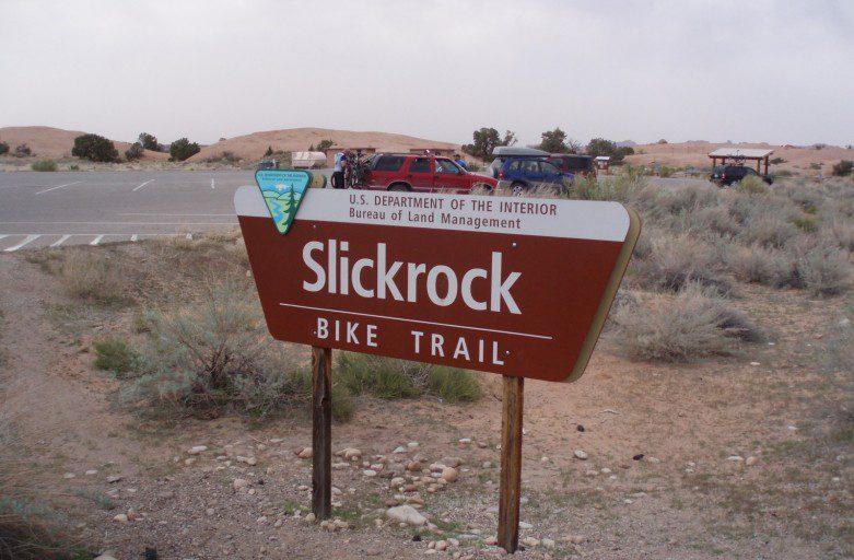 MOAB SLICK ROCK TRAIL VTT