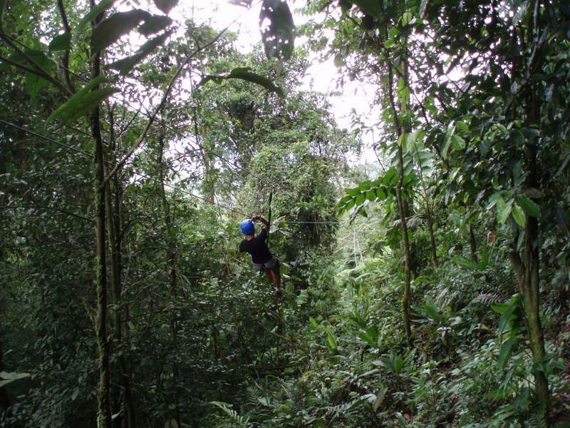 TYROLIENNE COSTA RICA SELVATURA