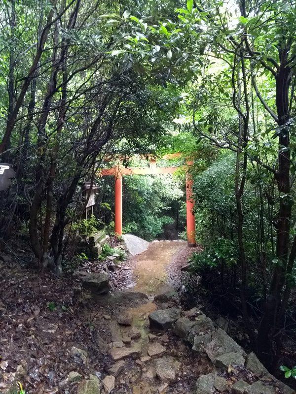 Miyajima_ rando mont Misen